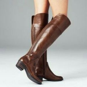 Vince camuto  brown pedra boots  6